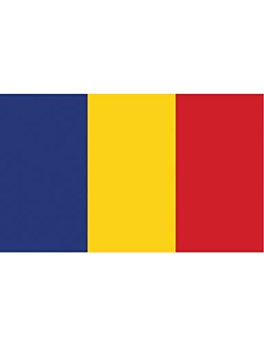"TrendClub100® Fahne Flagge ""Rumänien Romania RO"" - 150x90 cm / 90x150cm"