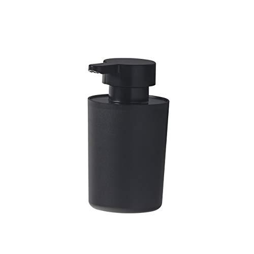 Tiger Urban Seifenspender freistehend, Farbe: Schwarz, mit herausnehmbaren Innenbehälter und extra großer Öffnung zum leichten Befüllen