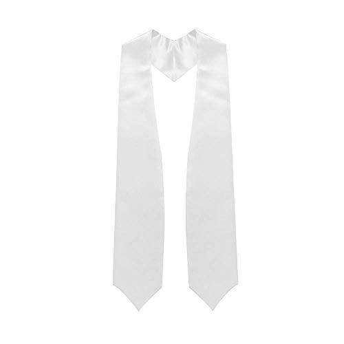Endea Graduation Stole (White)