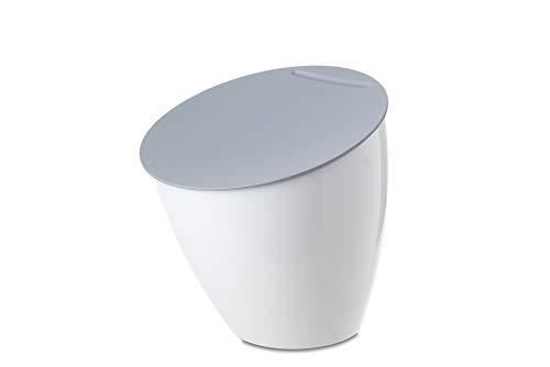 Rosti Mepal Calypso Piccola pattumiera da tavolo, colore: Bianco, weiãÿ
