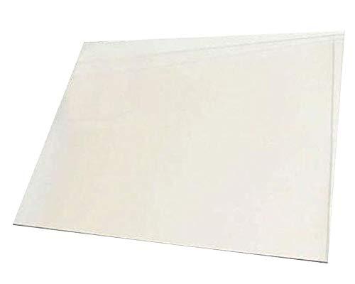 Chimenea de cristal hecho a la medida 30 x 25 cm o más pequeñas, 4 mm de grosor