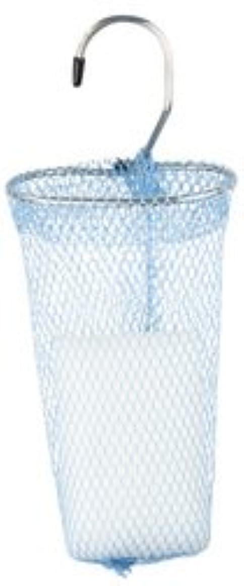有料性的側面石けんネット リングタイプ 10枚組 ブルー