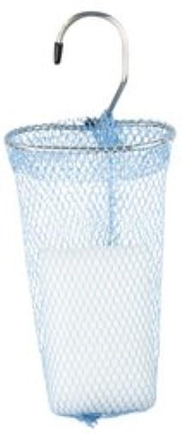ゴミ箱を空にする敗北エキサイティング石けんネット リングタイプ 10枚組 ブルー