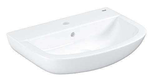 GROHE Bau Keramik | Bad Keramik - Waschtisch | 55cm mit Überlauf | 39440000