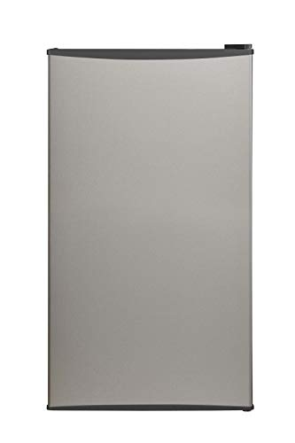 Midea 95 L Direct Cool Single Door Mini Refrigerator (MDRD142FGF03, Silver)