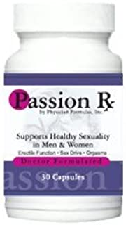 4 Bottles Passion Rx with Yohimbe, 30 Capsules - Formulated by Ray Sahelian, M.D