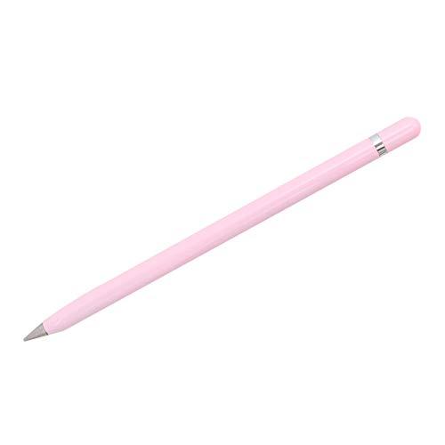 STOBOK bolígrafo sin tinta lápiz eterno escribir infinito bolígrafos metálicos para oficina shool regalo para hombres/Rosado