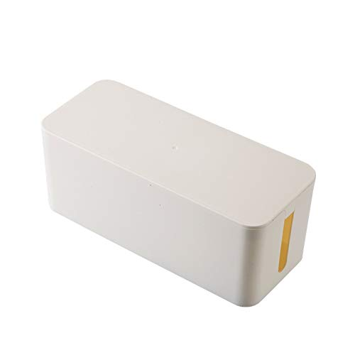 Decoración del hogar Caja de almacenamiento de gran tamaño de alambre, cable de alimentación Hub tarjeta Plug-in Line Computer acabado cuadro, toma de cargador de almacenamiento Decoración de pared