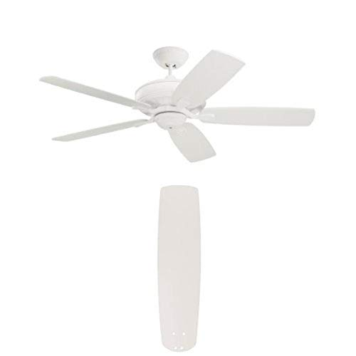"""Emerson CF788SW Carrera Grande Eco Fan with Emerson 31"""" Solid Wood Blades (Pack of 4)"""