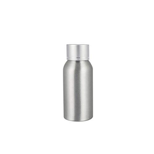 AchidistviQ Trinkflasche aus rostfreiem Aluminium, geeignet für Lotion, Toner, Angeln, Futter, Aluminium, 50 ml