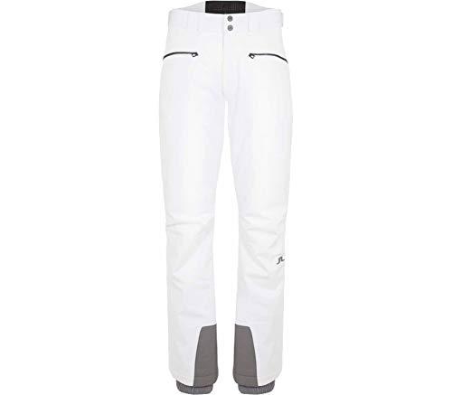 J.Lindeberg Truuli JL 2L Hommes Pantalon Ski S Blanc S