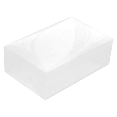 Fransande 10 cajas transparentes para zapatos para el hogar, se pueden apilar, caja de almacenamiento plegable, caja de almacenamiento para zapatos.