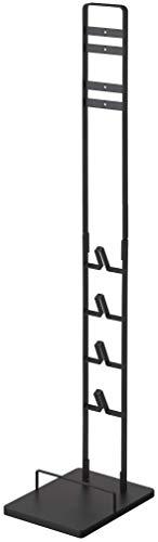 山崎実業(Yamazaki) コードレスクリーナースタンド M&DS ブラック 約W22X29XH112cm タワー SV21 SV18 V12 シリーズ専用 5331