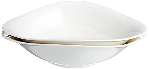 Villeroy & Boch Dune Vapiano Set di Scodelle per Pasta, 2 Pezzi, Porcellana Premium, 2-tlg