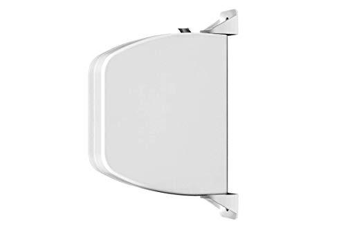 Schellenberg 50157 montaje en pared, color blanco, Mini