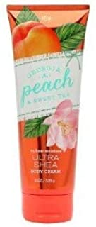 【Bath&Body Works/バス&ボディワークス】 ボディクリーム ジョージアピーチ&スイートティー Body Cream Georgia Peach & Sweet Tea 8 oz / 226 g [並行輸入品]