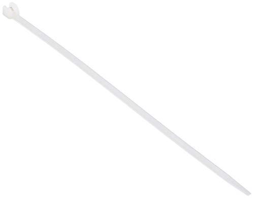 Kabelbinder 4,50 x 186 mm Farbe: natur, mit Metallzunge