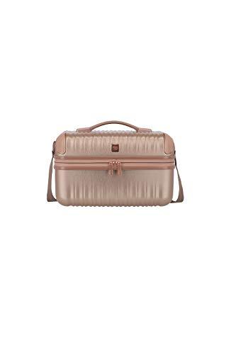 """TITAN Exklusive Eleganz: Gepäckserie """"BARBARA Glint"""" Kosmetikkoffer, 38 cm, 12L, Rose Metallic"""