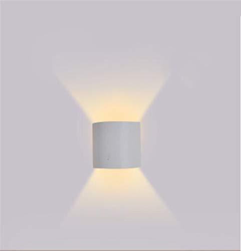 Wandlamp voor thuis, eenvoudige wandlamp, led, waterdicht, schaal led, voor slaapkamer, nachtkastje, balkon, wandlamp, brief