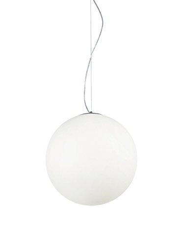 Ideal Lux Mapa SP1 D40 Lampada a Sospensione E27, Bianco