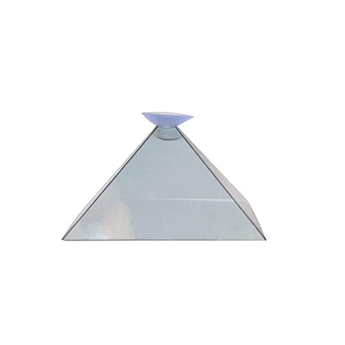 Mcottage 3D Hologram Pyramid Display Projector Video Stand Universal For Smart Mobile Phone