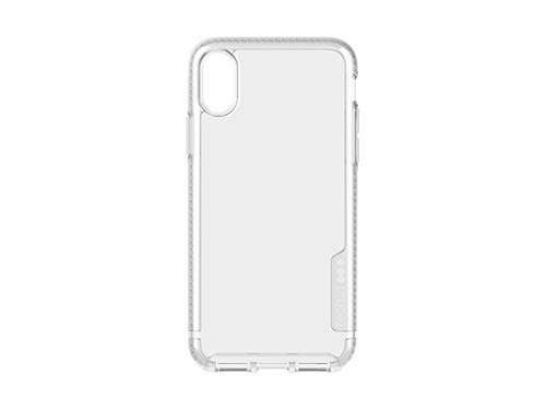 tech21 Protective Ultra Thin Pure Clear Back Case Cover for Apple iPhone X XS, Clear