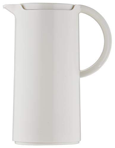 Helios Pronto Isolierkanne 1,0 l weiß