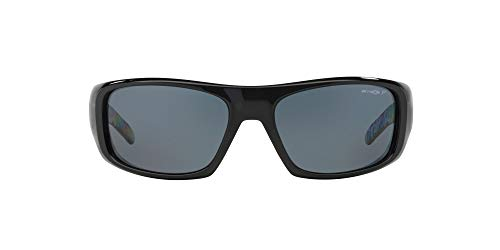 Arnette 0AN4182 214981 62 Occhiali da Sole, Nero (Black/Polargray), Uomo