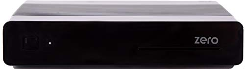 VU + Zero 1 x DVB-S2 Incluye 150 Mbit Stick WiFi con Antena Linux Full HD Receptor de satélite (Sat, 1080p, HDMI), Color Negro