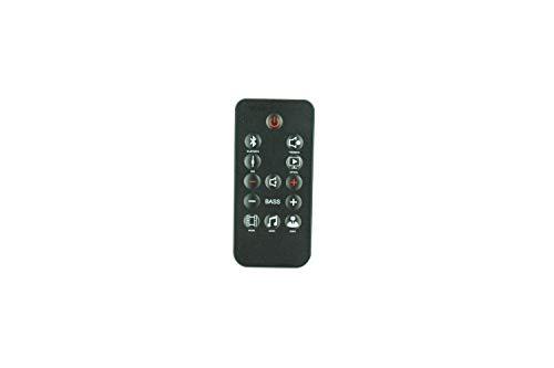 Controle remoto de substituição HCDZ para sistema de alto-falante de áudio JBL Home Cinema SB150 2.1 Soundbar