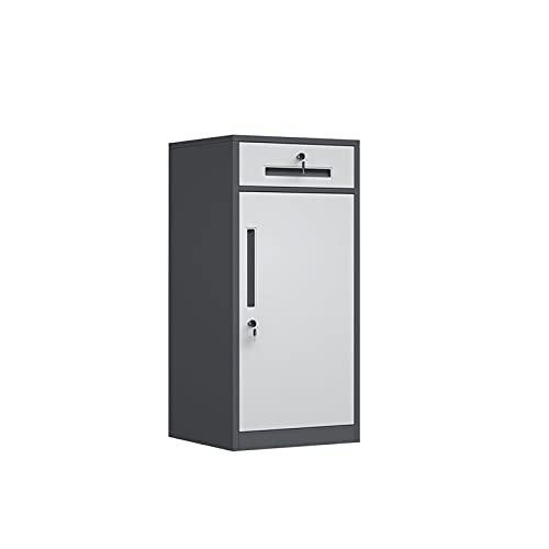 XYJHQEYJ Gabinetes de oficina Archivo de almacenamiento Cajas de archivos de oficina Armarios de oficina Gabinete de metal Gabinete de bloqueo de gabinete de oficina Archivos verticales Armarios de ar