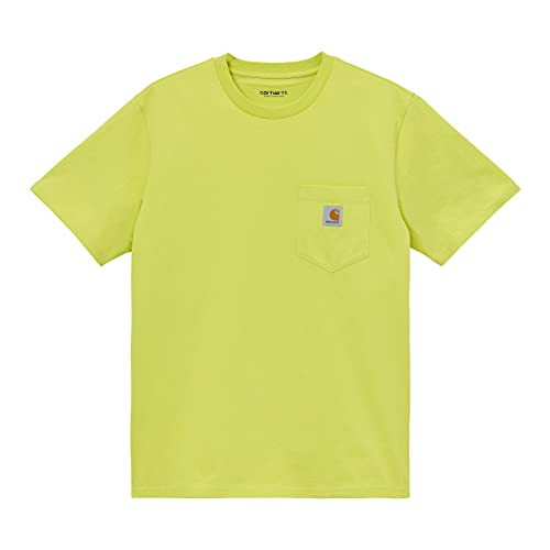 Carhartt Pocket T-Shirt Uomo (Giallo, XS, x_s)