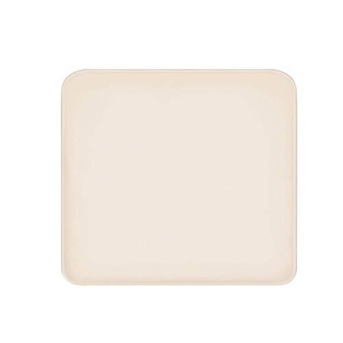 yagaga Soft Carpet Alarm Clock LED Smart Digital Display Pressure Sensitive Rug Alarm Clock 40x40cm for Home (None)