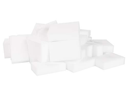 LTWHOME Grand Magique Nettoyant Gomme Eponge Mélamine Mousse de Haute Qualité 110 X 70 X 30mm (Paquet de 50)