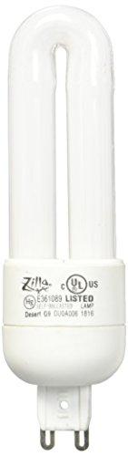 Zilla 13990 Mini Compact 6W Desert Fluorescent Bulb,Black