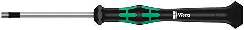 Wera 2054 Destornillador hexagonal para usos electrónicos, Hex-Plus, 1.5 mm x 60 mm