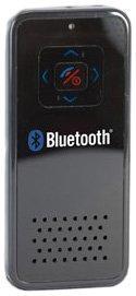 Technaxx FSE 100 BT- Bluetooth Freisprecheinrichtung mit Clip für iPhone schwarz