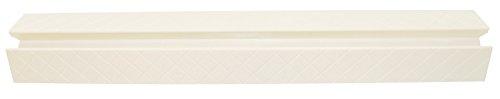 Geuther, Plaque pour seuil de porte EasyLock, Accessoire barrière de sécurité, 0048BPWE, blanc.