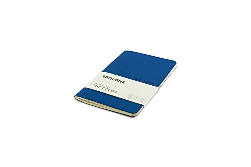 Zequenz The Color Notizbuch A6- Professional Note Königsblau Gepunktet