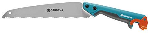 Sierra 300 PP combisystem de GARDENA: sierra para ramas, dentado trabado, longitud hoja 325 mm, antideslizante por tope en extremo del mango, cómodo manejo con componentes de plástico blando (8737-20)