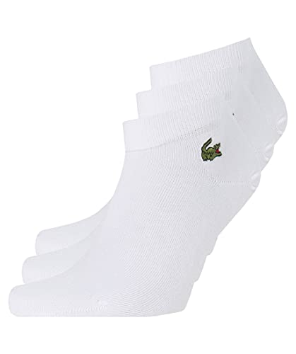 Lacoste RA2105 Calcetines, Blanc/Blanc-Blanc, 36-40 para Hombre