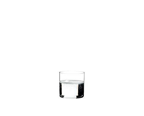 RIEDEL Wasserglas-Set, 2-teilig, Für Wasser, Softdrinks oder Säfte, 330 ml, Kristallglas, O Wine Tumbler, 0414/01