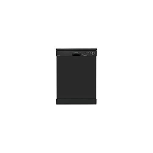 Oceanic ocealv1249bdd - Lave Vaisselle posable - 12 Couverts - 49 DB - a++ - larg 59,8 cm - Noir