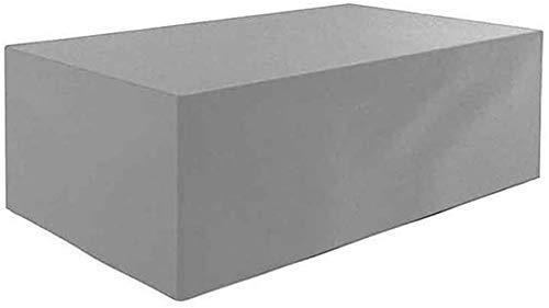 dfff Protector de Cubierta para Muebles de jardín, sofá, Patio, terraza, Banco, a Prueba de Polvo, fácil de Plegar, Lona Protectora, 2 Colores, tamaño Personalizable
