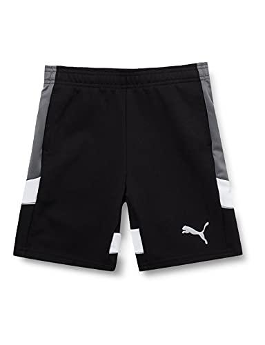 PUMA Jungen Active Sports Shorts DK B Black, 152
