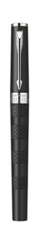Parker Ingenuity Large Daring Black Rubber Chrome Trim (CT) 5th Technology Mode Pen (S0959250) Photo #3