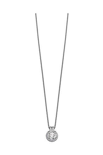 Esprit Damen-Halskette opulence 925 Sterlingsilber 45 cm ESNL91984A420