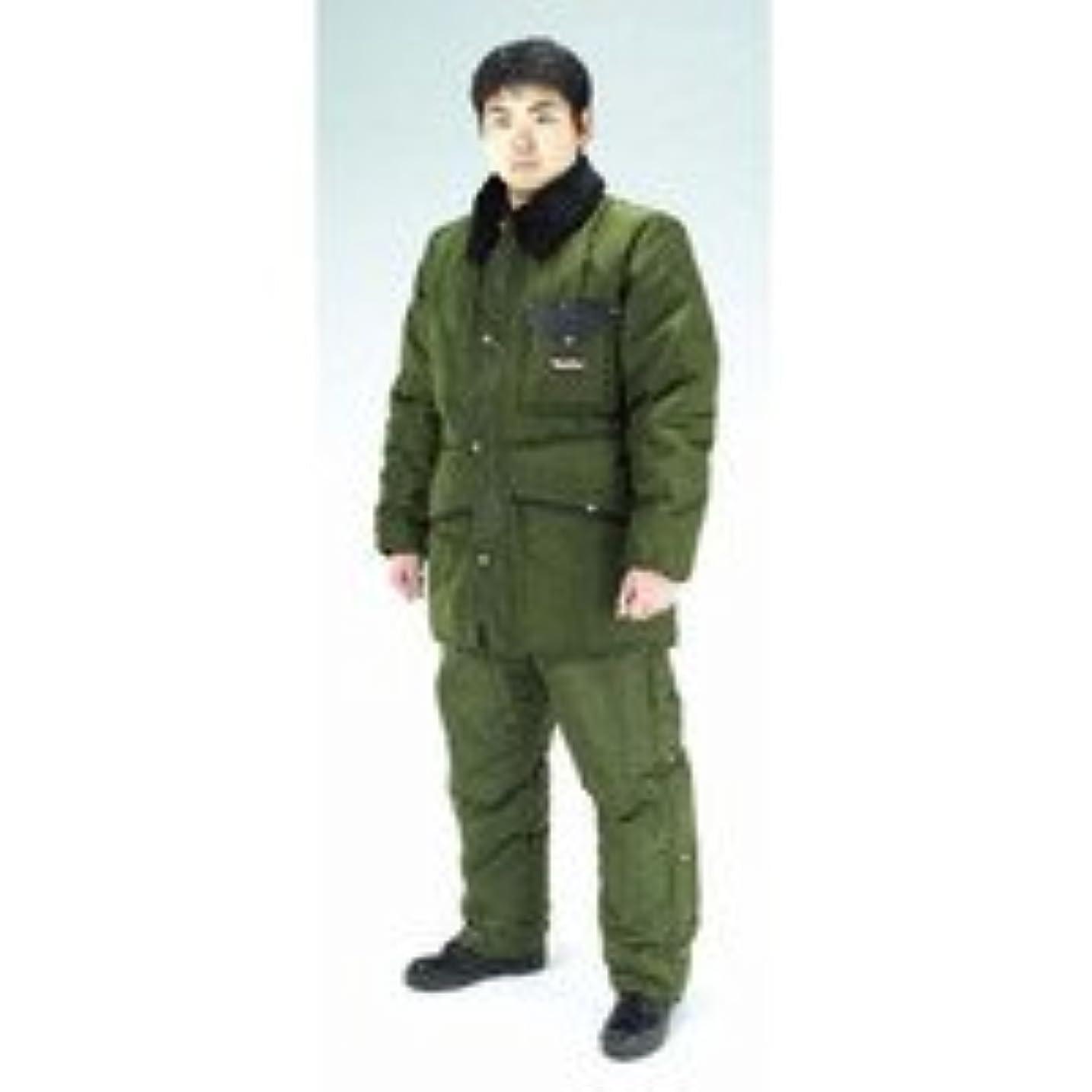 利用可能社会名声[EA915GM-33] XL防寒服上下セットSage