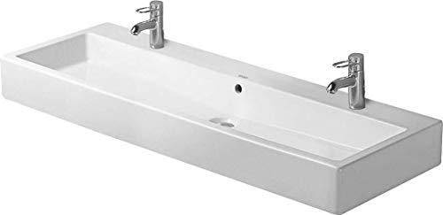 Duravit Waschbecken Vero Breite 120cm mit ÜL, mit HLB, 2 HL, weiß