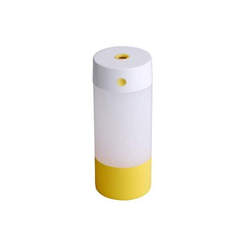 PANQQ Humidificador Filtro difusor USB Oficina Coche hogar purificador de Aire Regalo casero Fresco Amarillo ambientador